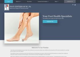 footcentersofnc.com
