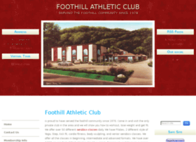 foothillathletic.com