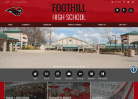 foothillcougars.com
