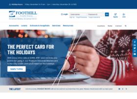 foothillcu.org