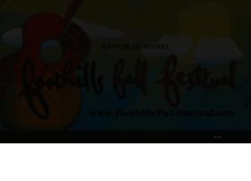 foothillsfallfestival.com