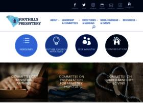 foothillspresbytery.org