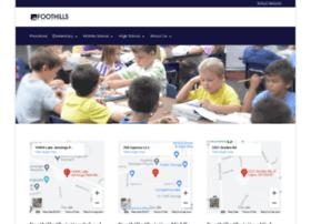 foothillsschool.net