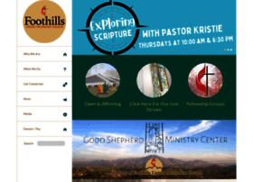 foothillsumc.org