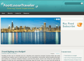 footloosetraveller.com