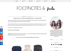 footnotesandfinds.com