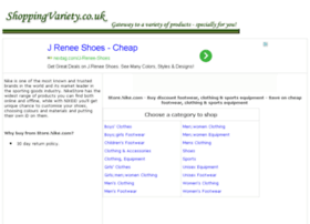 footwear-clothing-sports-equipment.shoppingvariety.co.uk