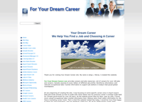 for-your-dream-career.com