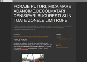 foraje-puturi-denisipari.blogspot.com
