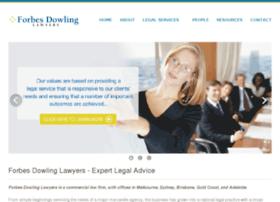 forbesdowling.com.au