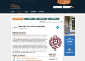 fordham.lawschoolnumbers.com