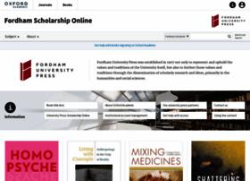 fordham.universitypressscholarship.com