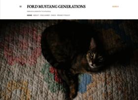fordmustanggenerations.blogspot.be