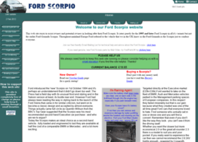 fordscorpio.co.uk
