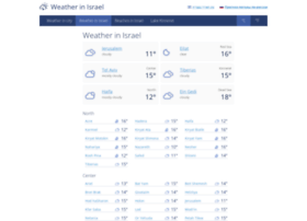 forecast.israelinfo.co.il