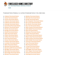 foreclosedhomesdirectory.com