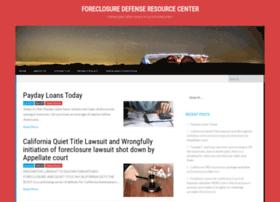 foreclosuredefenseresourcecenter.com
