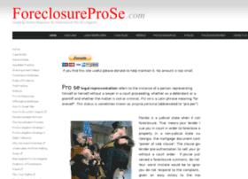foreclosureprose.com