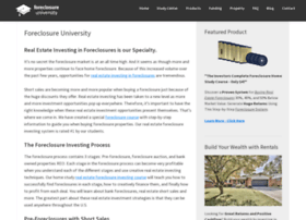 foreclosureuniversity.com