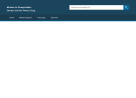 foreignminister.gov.au