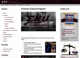forensicscience.eku.edu