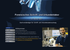 forensisches-schriftlabor.de