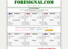 foresignals.com