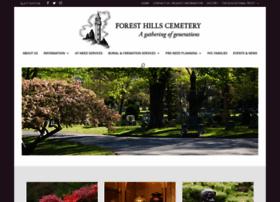 foresthillscemetery.com