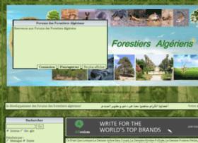 forestiersalgeriens.net