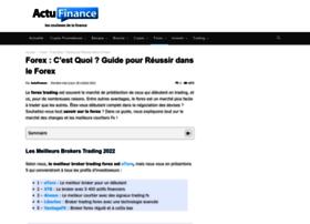 forex.actufinance.fr