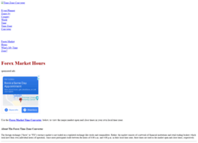Forex market time zone converter
