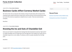 forexarticlecollection.com