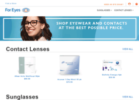 foreyescontacts.com