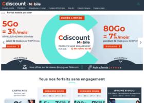 forfaitmobile.cdiscount.com