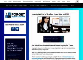 forgetstudentloandebt.com