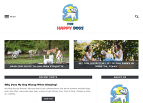 forhappydogs.com