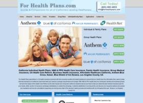 forhealthplans.com