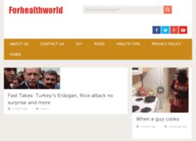 forhealthworld.com
