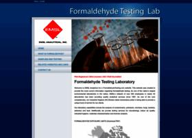 formaldehydetesting.com