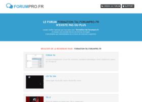 formation-tai.forumpro.fr