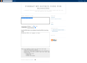 formatmysourcecode.blogspot.com