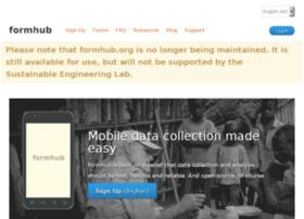formhub.org
