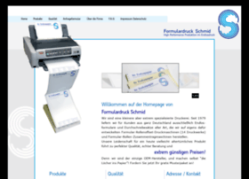 formulardruck-schmid.de