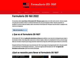 formulariods160.info