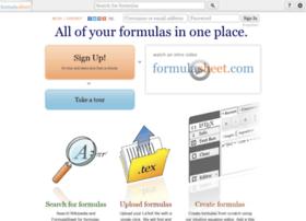 formulasheet.com