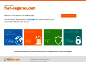foro-seguros.com