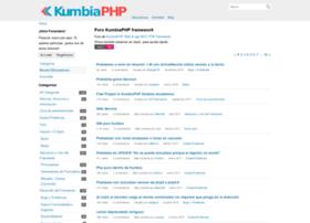 foro.kumbiaphp.com