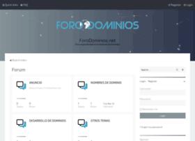 forodominios.net