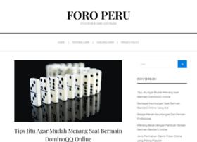 foroperu.org