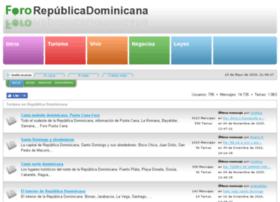 fororepublicadominicana.com